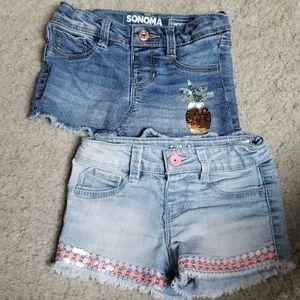 Summer Jean shorts
